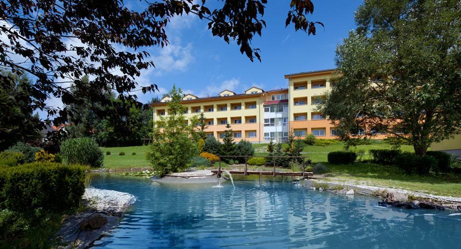 Wellnesshotel  Wellness Hotel Frymburk - Wellness and Spa centrum