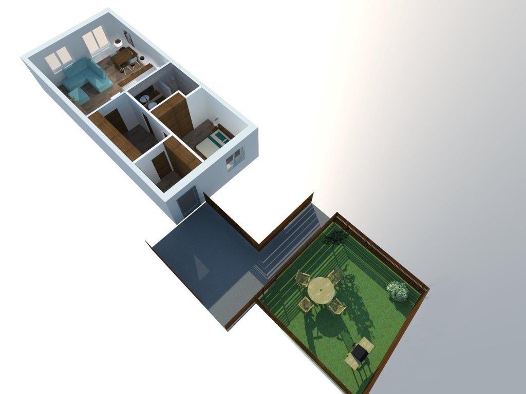Horní apartmán 2