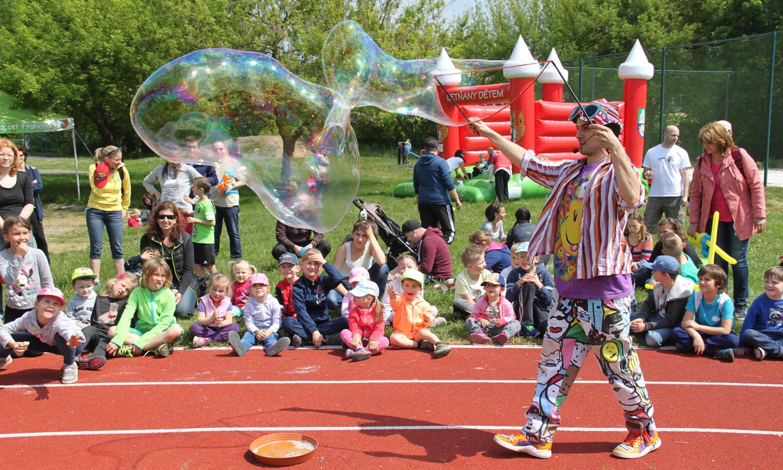Nabídka aktivit, atrakcí, dětských a dalších zábavných programů