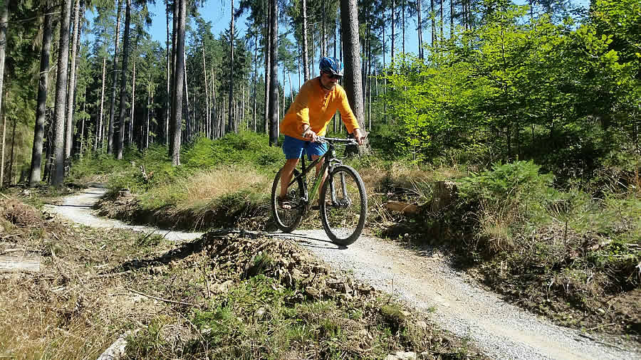 Singl Trail Frymburk